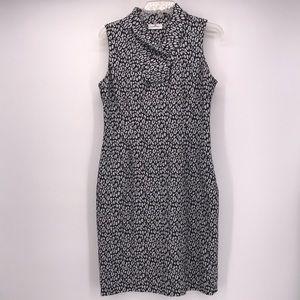 Calvin Klein  SLEEVELESS  ANIMAL PRINT  DRESS 10